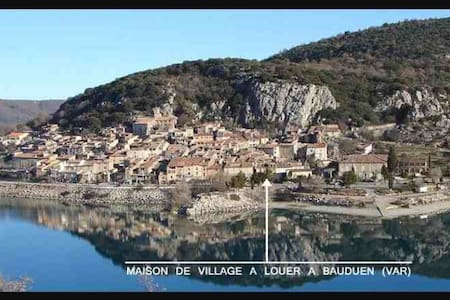 Village house in Bauduen,Lac de St Croix, Provence - House