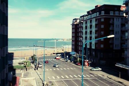 Depto Vista al Mar en Mar del Plata - Mar del Plata - Daire