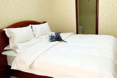 大雁塔景区浪漫温馨大床房独立卫生间 - Apartment