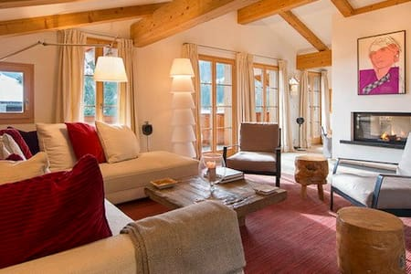 Luxury chalet with amazing views - Lech