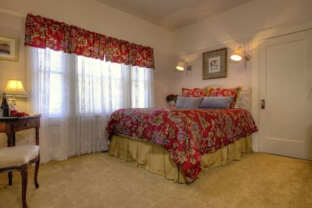 Luxurious Room-1920s Craftsman-Near Downtown (V) - Ashland - Bed & Breakfast