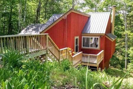 Modern, Private, and Wooded in the White Mountains - Campton