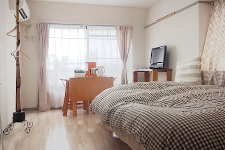 Cozy&Relax 5 mins to Toshogu One Stop Sendai 401 - Apartment