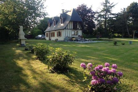 Maison normande (2e chambre) - Sainte-Croix-sur-Aizier - Rumah