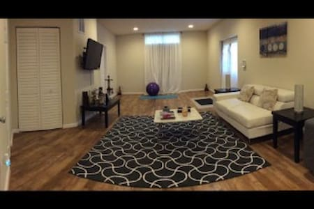 Spacious New Private 2 Beds 1.5 Bath & Kitchen Apt - Bowie - Casa