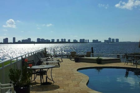 Great Intracoastal waterview apt. - Lakás