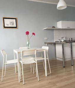 New! Cozy & fully eq.Near airport - Apartment