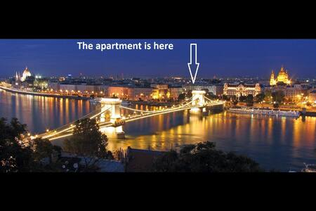 N14 60m2 Budapest City Center 2 Bedroom, + LivingR - Budapest - Appartement