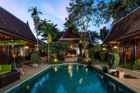 Lanna Villa w/ Private Pool, Transfers & Breakfast - Villa