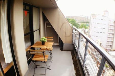 (한국인 호스트) 난바 12분 쯔텐카쿠 5분! 오사카 돈키 하우스!#8 - Wohnung