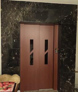 新建電梯15坪大房間,乾濕兩用衛浴,分離式空調。queen bed. - Haus