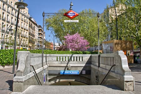 Apartament center of Madrid, Plaza Tirso de Molina - Madrid - Wohnung