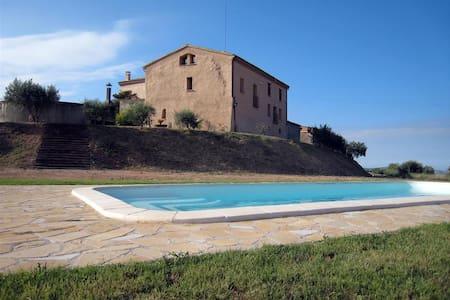 Casa Rural Cal Camats 3+2 Espigas Gran Confort - Montmagastre