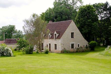 Maison en pierre avec Lac & Foret - Haus