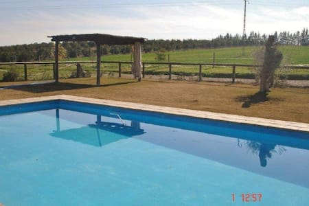 Finca Almonazar. Jardin y piscina junto a Sevilla - Villa