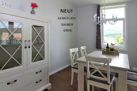 Neue große Ferienwohnung 100m2  in Braunlage - Braunlage - Wohnung