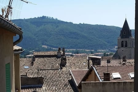 Calm flat with balcony in the heart of Sisteron - Byt