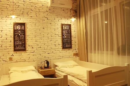 Located in the island of the moon, twin bed room - Fushun Shi - Boetiekhotel
