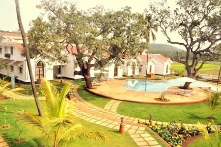 Luxurious 2Bed,2 Bath with Sundeck,Siolim,Goa - Siolim - Lakás