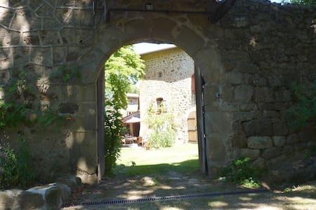 Ardèche verte : chambre d'hôte en pleine nature - Preaux - Chambres d'hôtes