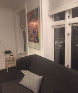 Charming two bedroom in the heart of Copenhagen. Smaller apartment in the perfect spot. 150 meters to Metro, 10 min on bike to City.