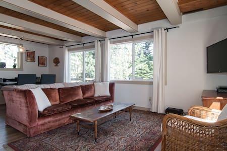 Sunny Tahoe City Westshore Cabin - House