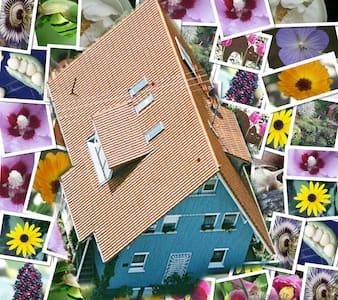 Ferienwohnung Füxle im Bio Holzhaus - Apartamento