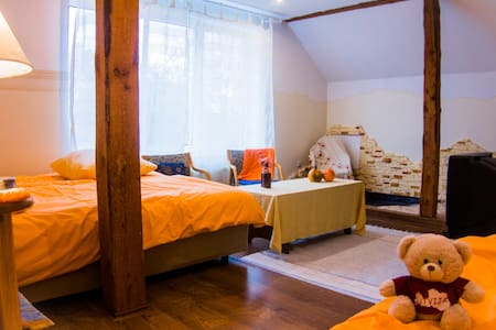 Light and cosy room for 2 persons - Guesthouse