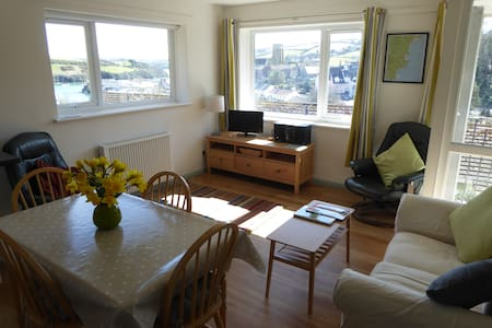 Sunny Salcombe Holiday Apartment - Apartamento