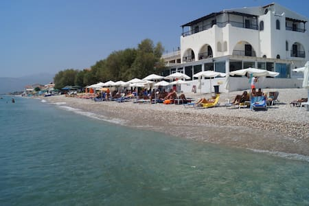 Lovely Hotel Room in Potokaki Samos With Sea View - Potokaki - Guesthouse