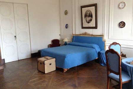 La splendida suite blu al castello! - Frasne-le-Château - Bed & Breakfast
