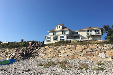 Exquisite 5 BR 4 bath Ocean Front w private beach! - Plymouth - Ház