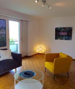 Stylische 3.5 Zimmerwohnung nähe See und City - Apartment