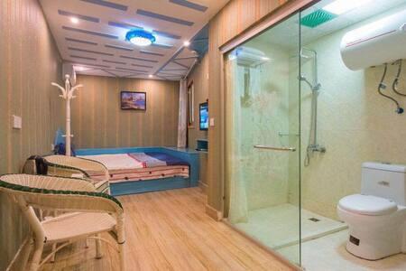 西塘古镇近酒吧街大床房,门票半价,送酒吧券和地图 - Jiaxing
