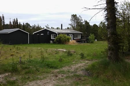 Cosy beach house -350 m to beach - Huis