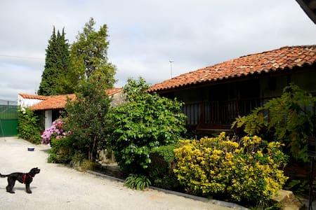 Campo, playa y ciudad en alojamiento rústico - Gijón - House