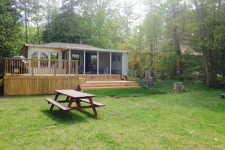 Cozy Cabin on Lake Chemong - Lakefield