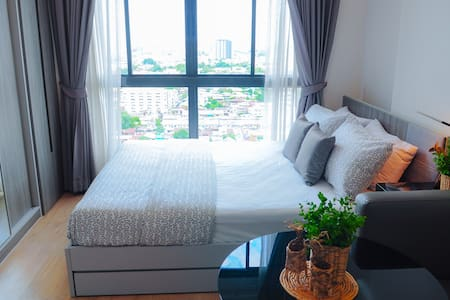 Near Skytrain+Hi-WiFi in room+Mart+Mall - Bangkok