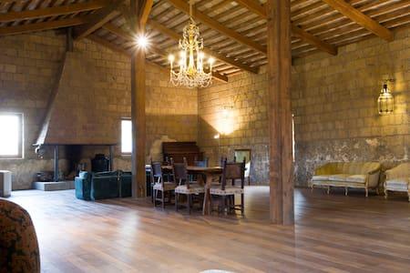 Wonderful loft inside ancient abbey - Loft