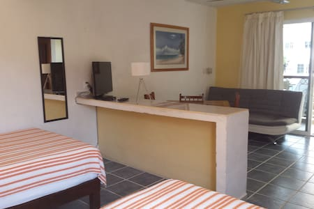 Apartment exactly on 5th ave. 300m mamitas beach - Playa del Carmen - Lägenhet