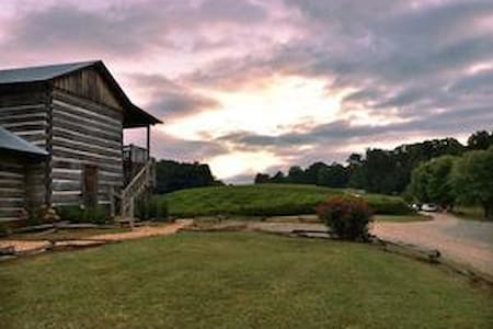 Rustic 1820's Cabin-in-the-Vines - Dahlonega