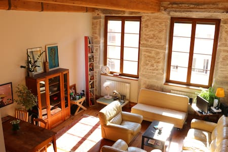 Apartment on the top of croix rousse's hill - Lyon - Daire
