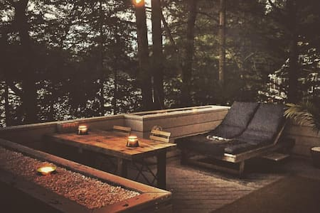 Cozy Cedar lake fall getaway with a view. - Sturbridge - House