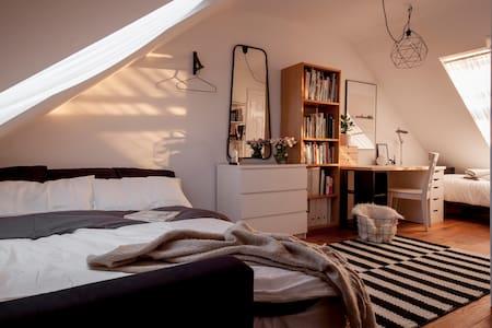 40€ Contemporary loft bedroom/ensuite bathroom - Dublin