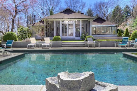 Roxbury 4-5BR Painter Hill,Pool - St.Bart's Style! - Haus