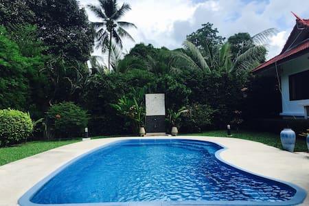 Villa 2BR+PrivatePool-Fenced Yard - Ko Samui