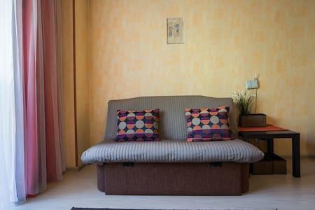Уютная студия около отеля Европа - Apartamento