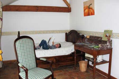 chambres et table d'hôtes à la ferme biologique - House