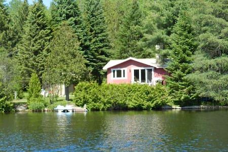 Ma cabane au Canada!  Chalet en cèdre-Lanaudière - Almhütte