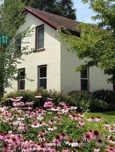 Art-Filled Historic Home w Skylight Studio - Decorah
